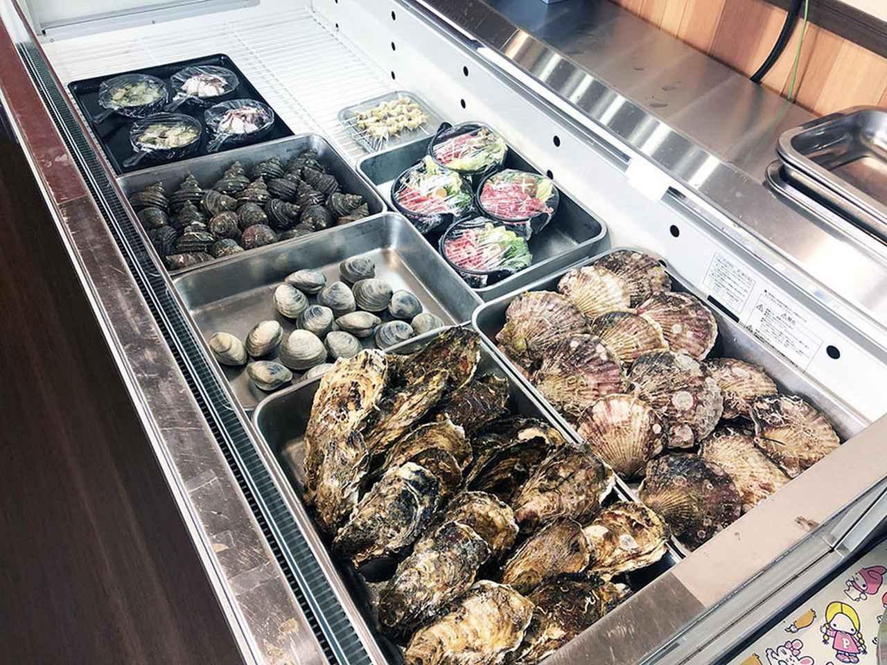 画像2: 牡蠣、ホタテ、ホヤ……新鮮な魚介類をRVパークで堪能!