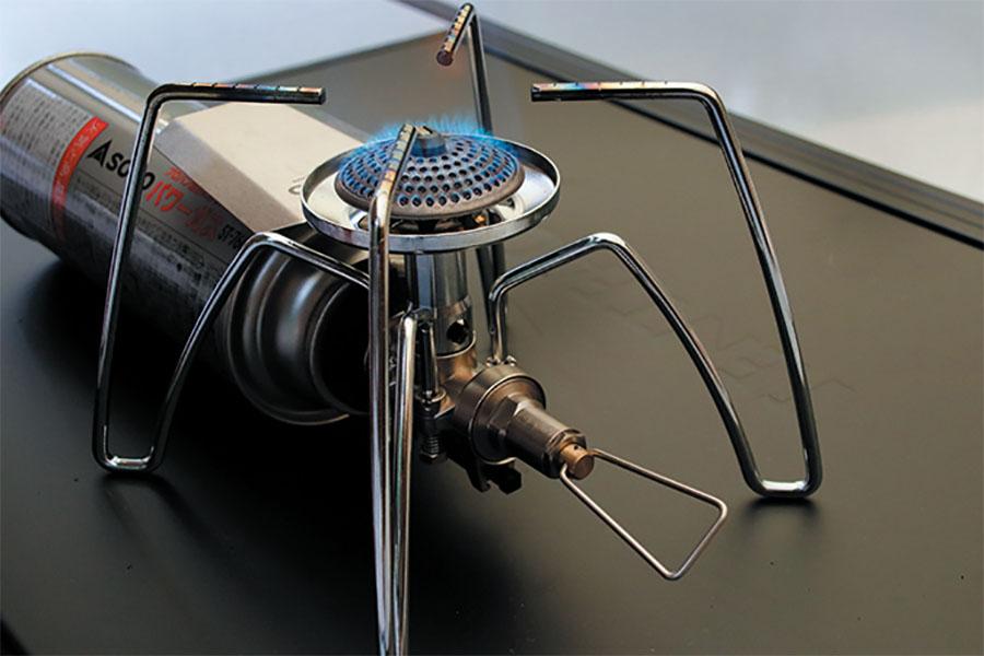 画像: マイクロレギュレーター搭載モデルなら、気温が低くても火力をキープ。