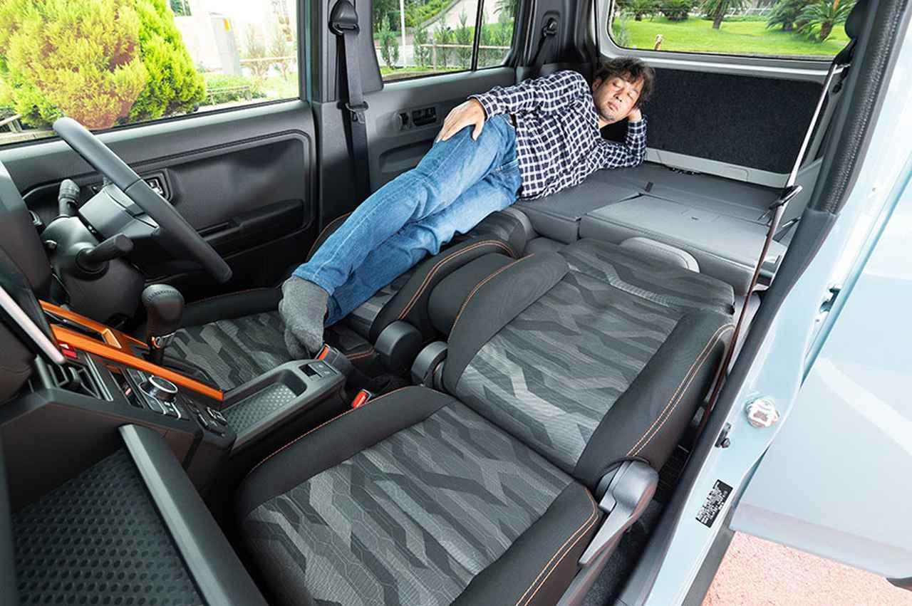 画像: ダイハツの軽・タフト試乗インプレ! 車中泊&アウトドアでの使い勝手は⁉ - アウトドア情報メディア「SOTOBIRA」