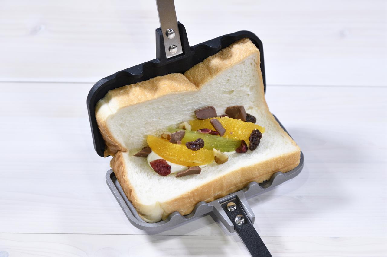 画像2: パン1枚で作れるのが画期的!