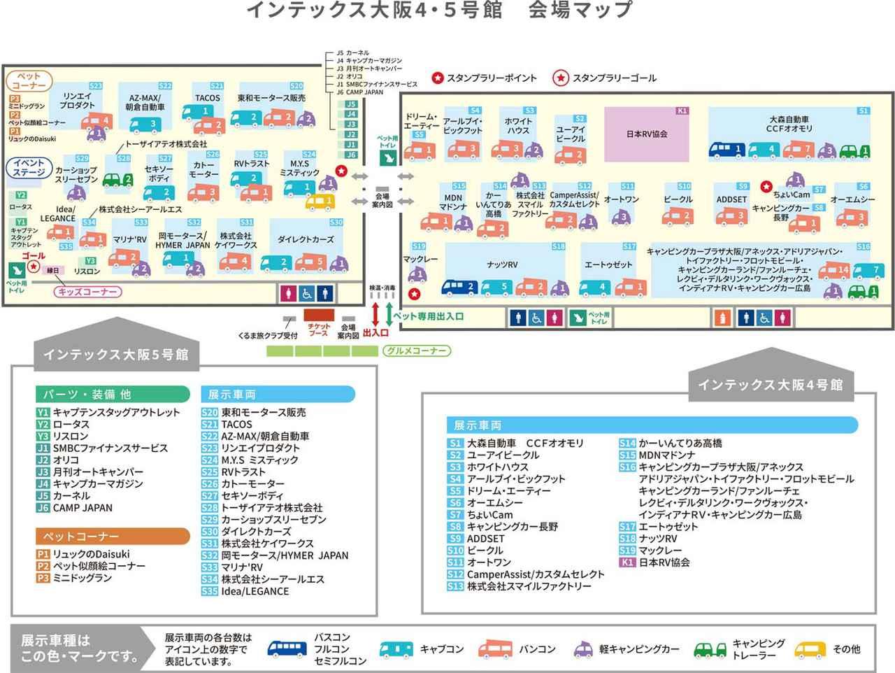 画像: 大阪キャンピングカーフェア2021