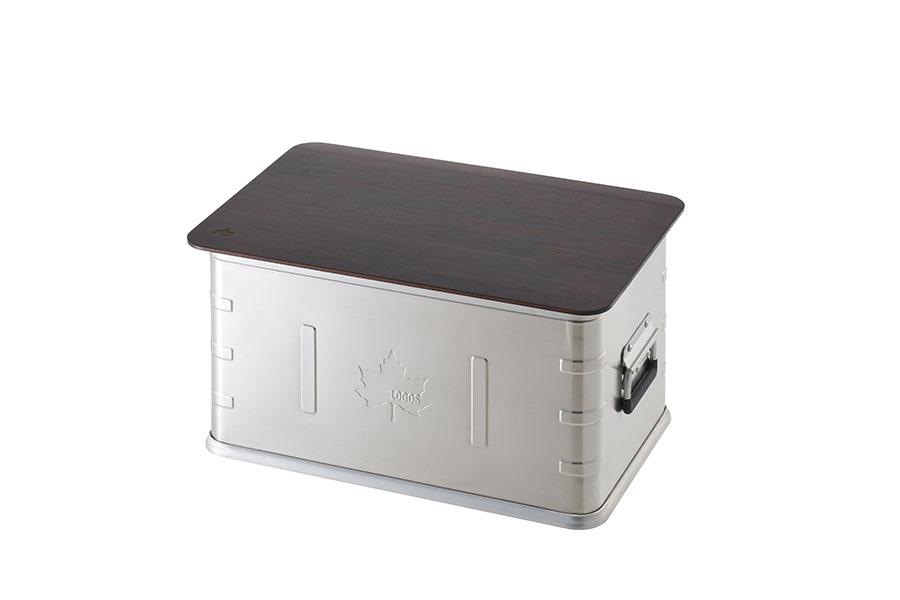 画像1: 無骨なアルミボックスをラック化とテーブル化!