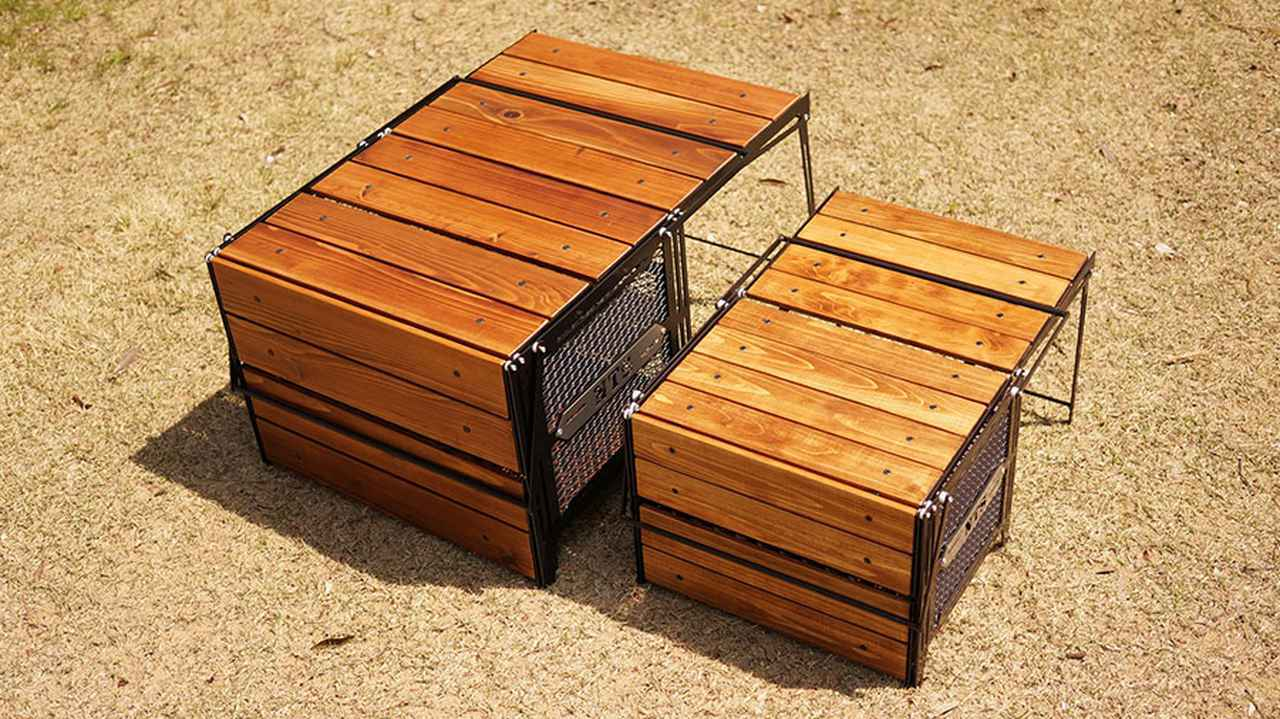 画像2: こだわりの受注生産収納ボックスでおしゃれなテーブル化