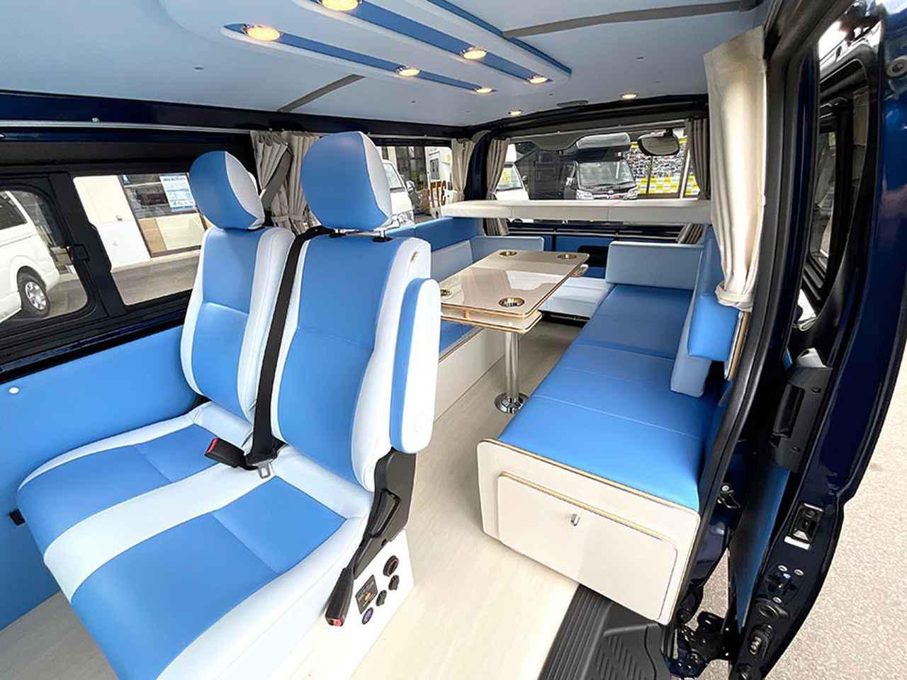 画像2: ナローボディ&標準ルーフで車中泊向けのモデル