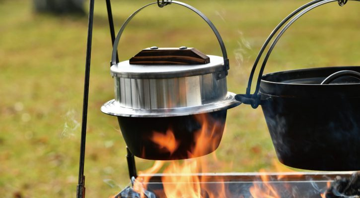 画像: キャンプ羽釜 3合炊き | ユニフレーム アウトドア用品総合メーカー