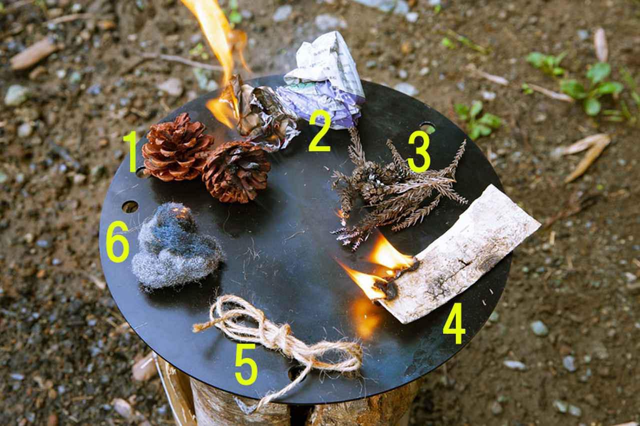 画像: どんな火口が使える? 比べてみよう!