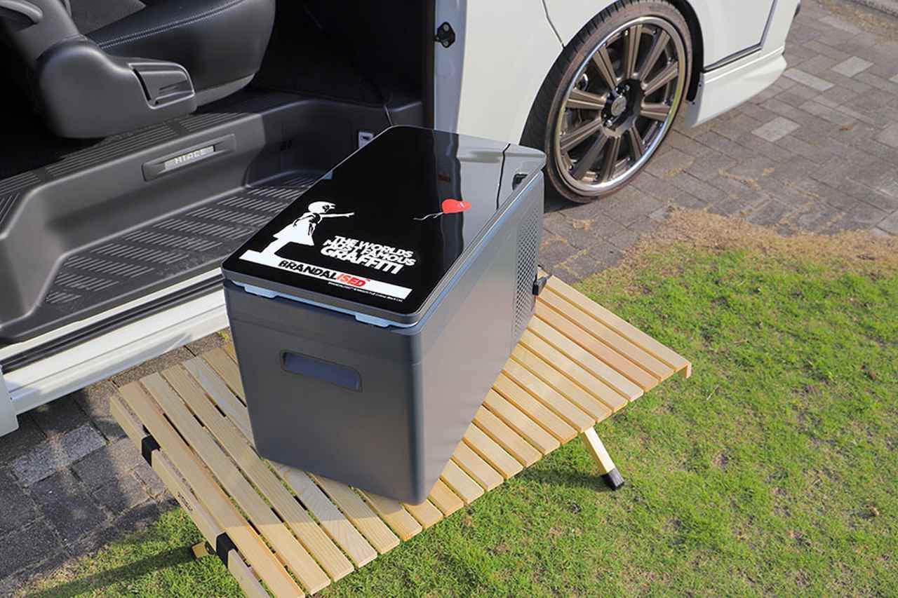 画像2: 多機能な冷凍冷蔵庫で車中泊旅が快適になる!