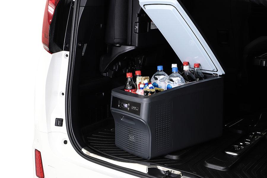 画像1: 多機能な冷凍冷蔵庫で車中泊旅が快適になる!