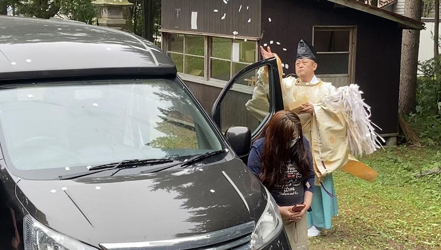 画像2: ツアー2日目 キャンピングカー神社で安全祈願後、北海道ならではの隠れ名スポットへ