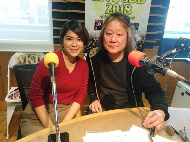 画像: 左より アシスタントの田中綾香 と 田中一郎