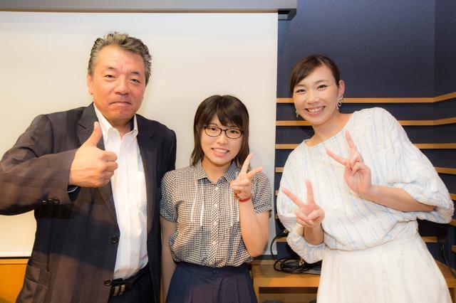 画像: そしてこの日は、関西大学から番組収録の見学に来てくれました!