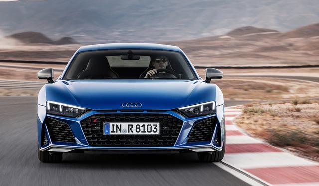 画像1: 「Audi R8」がフェイスリフト