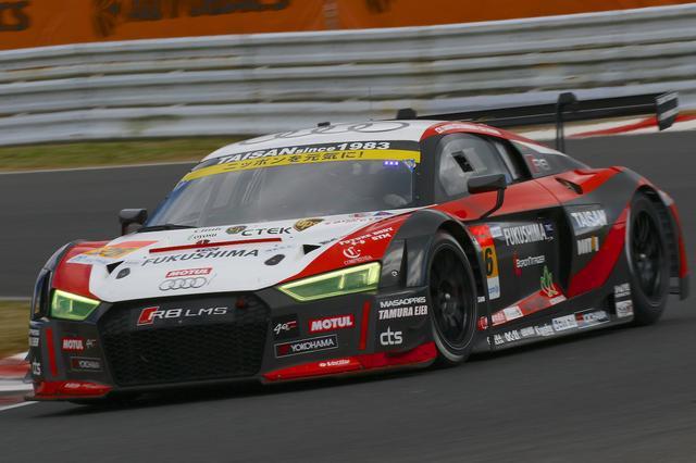 画像4: 【SUPER GT Rd.7 AUTOPOLIS】Hitotsuyama Audi R8 LMSは完走するも入賞には届かず