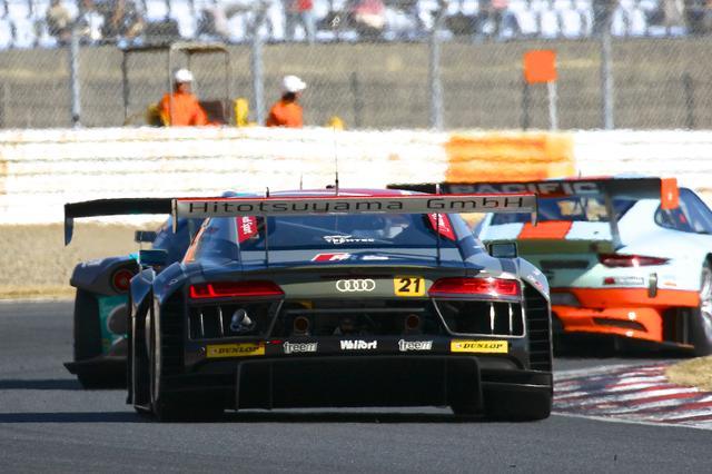 画像5: 【SUPER GT Rd.7 AUTOPOLIS】Hitotsuyama Audi R8 LMSは完走するも入賞には届かず