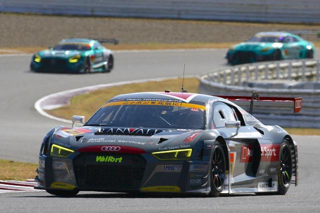 画像3: 【SUPER GT Rd.7 AUTOPOLIS】Hitotsuyama Audi R8 LMSは完走するも入賞には届かず