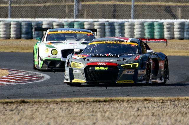 画像1: 【SUPER GT Rd.7 AUTOPOLIS】Hitotsuyama Audi R8 LMSは完走するも入賞には届かず