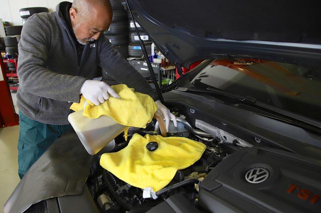 画像6: 【GTI Clubsport】エンジンオイルとDSGオイルを交換したら