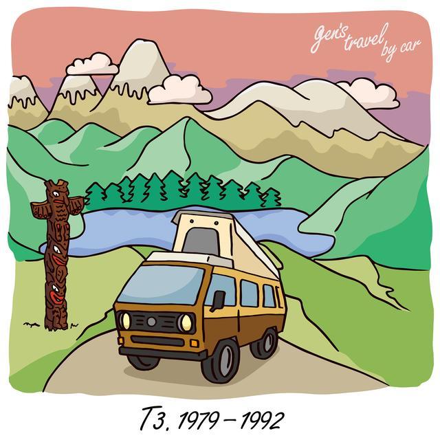 画像: 【gen's travel by car】T3 ヴァナゴン ウェストファリア