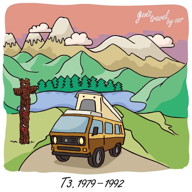 画像: 【gen's travel by car】第1話 T3 ヴァナゴン ウェストファリア - 8speed.net VW、Audi、Porscheがもっと楽しくなる自動車情報サイト