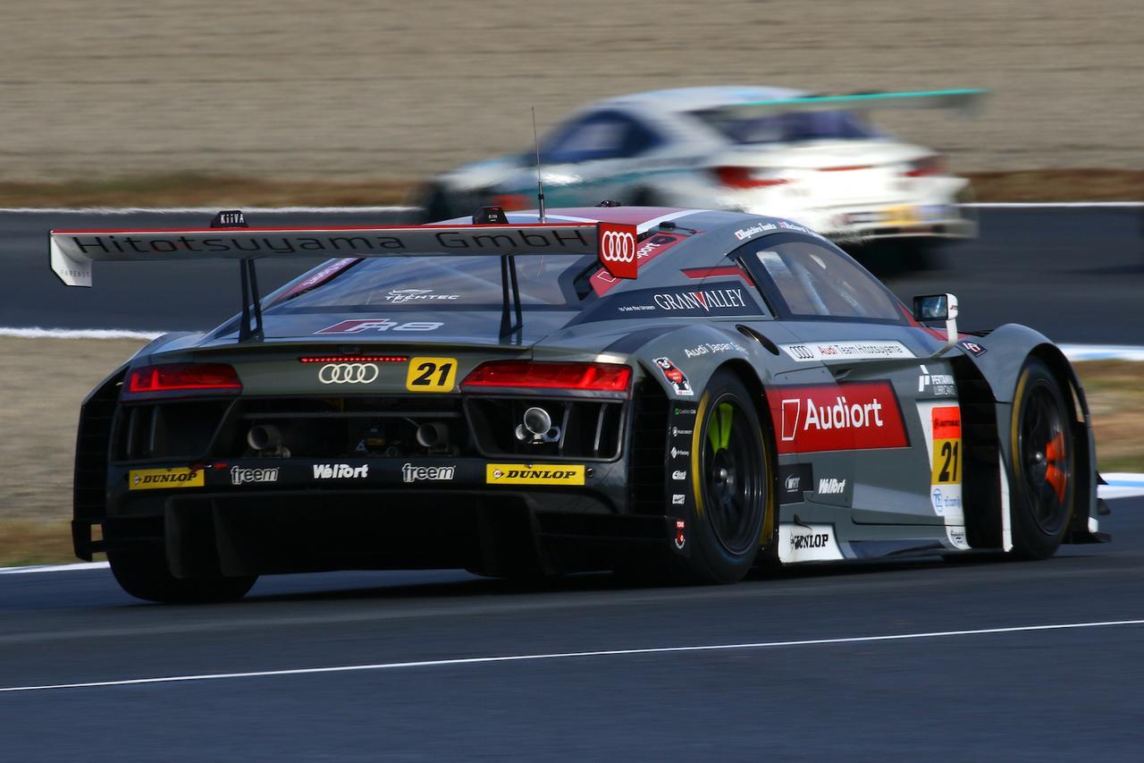 画像2: 【SUPER GT Rd.8 Motegi】Hitotsuyama Audi R8 LMSはポイント獲得にわずかに及ばず