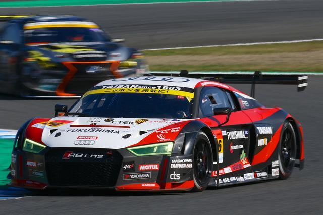 画像4: 【SUPER GT Rd.8 Motegi】Hitotsuyama Audi R8 LMSはポイント獲得にわずかに及ばず