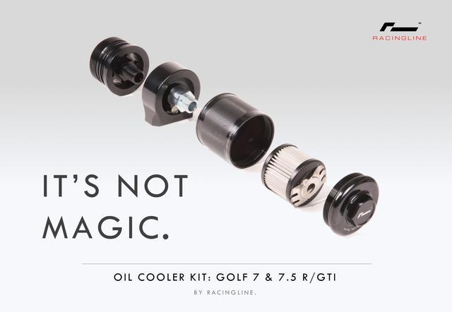 画像4: [Racingline] ゴルフ 7/7.5 GTI/R用オイルクーラーキットを発売