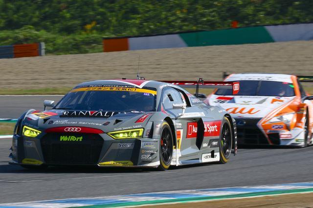 画像3: 【SUPER GT Rd.8 Motegi】Hitotsuyama Audi R8 LMSはポイント獲得にわずかに及ばず