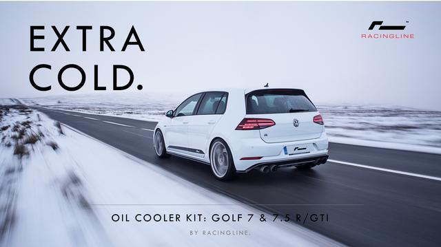 画像1: [Racingline] ゴルフ 7/7.5 GTI/R用オイルクーラーキットを発売