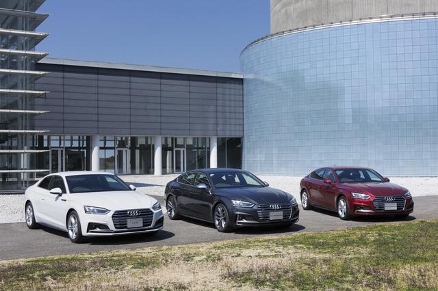 画像2: Audi A5シリーズの装備を一部変更