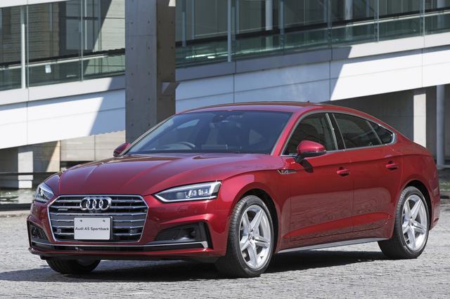 画像1: Audi A5シリーズの装備を一部変更