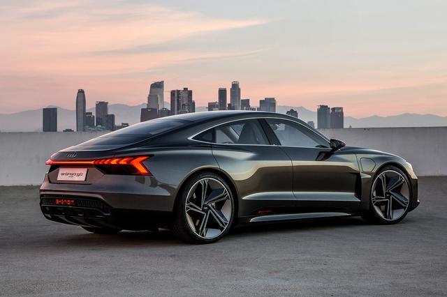 画像4: アウディがLAショーで「Audi e-tron GT concept」を発表