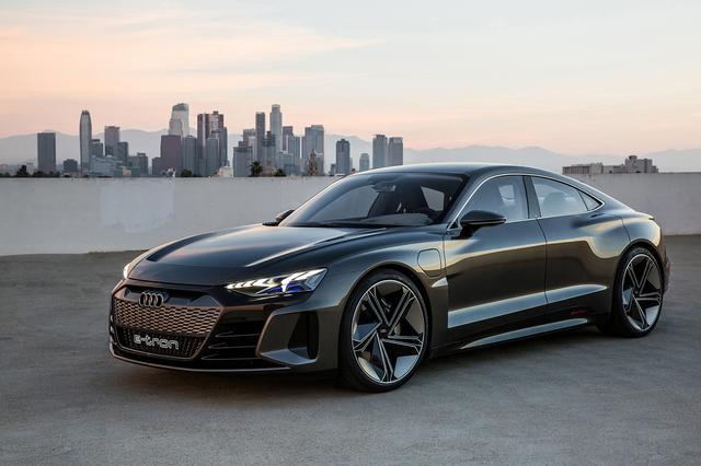 画像2: アウディがLAショーで「Audi e-tron GT concept」を発表
