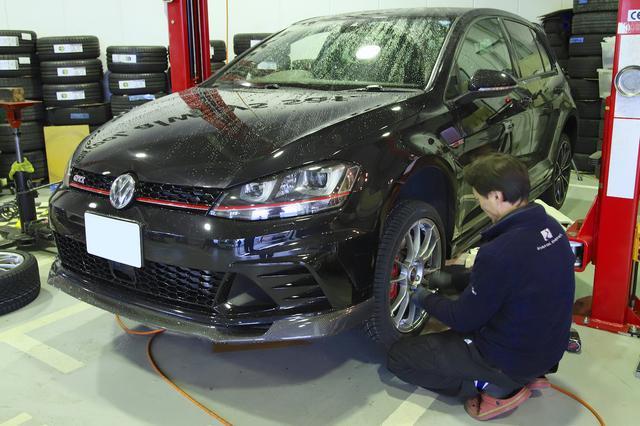 画像4: 【GTI Clubsport】コンチネンタルの新スタッドレスタイヤを試す