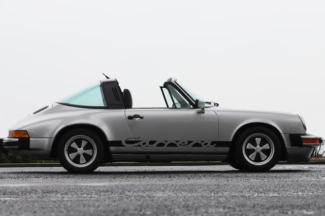 画像2: 【911 Targa】クラシックポルシェ第2弾は'77の911タルガ