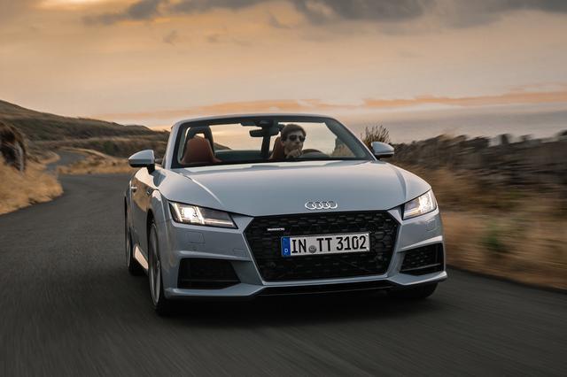 画像1: マイナーチェンジした「Audi TT」が欧州で受注開始