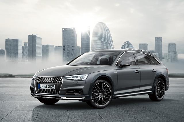 画像1: 限定車「Audi A4 allroad absolute」を発売