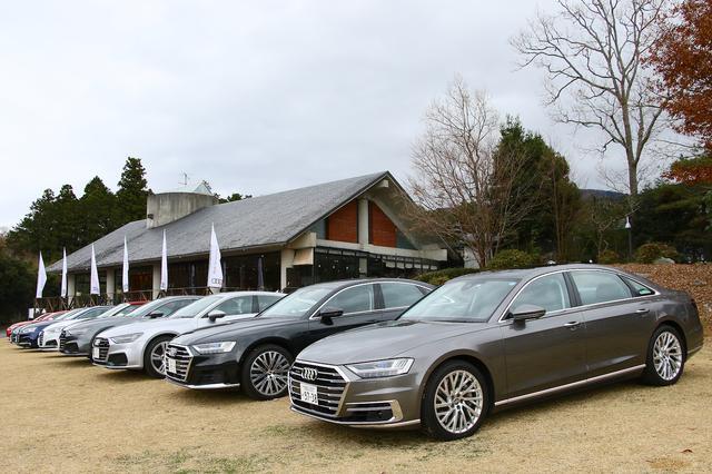 画像1: Audi All Line-up試乗会で見えてきた2019年