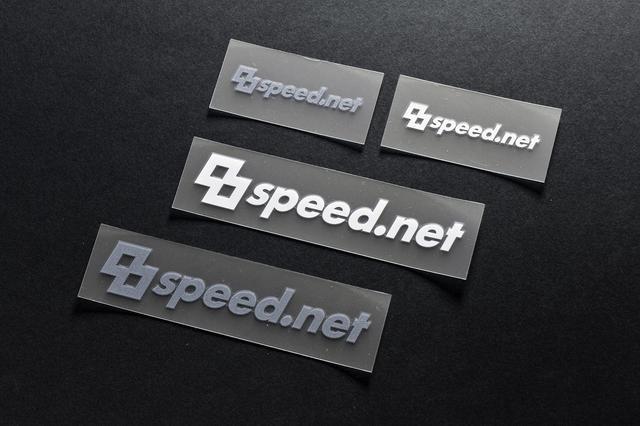 画像1: 8speed.netの新ロゴステッカー販売開始!