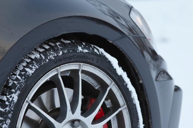 画像4: 【GTI Clubsport】VikingContact 7で雪道へ