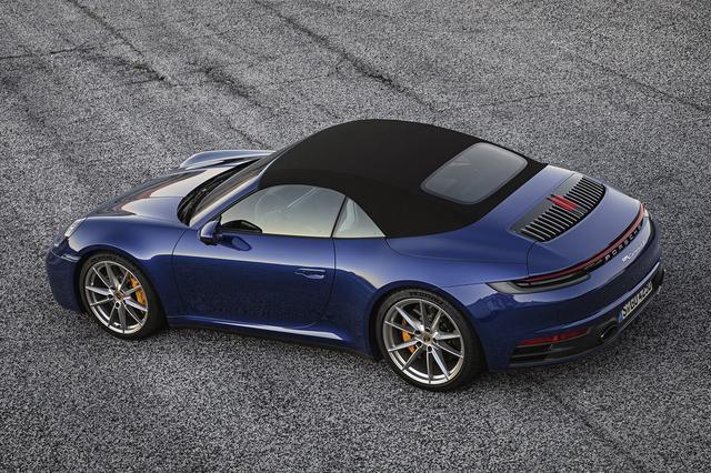 画像2: 新型「911カブリオレ」がデビュー