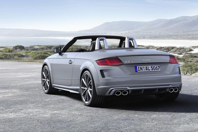 画像2: 「Audi TTS」の2.0 TFSIは306psに!