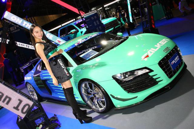 画像: Audi R8(Falken:西1)
