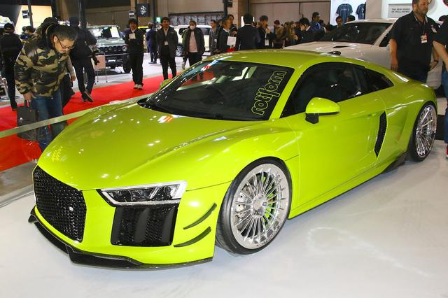 画像: Audi R8(Bond Group and Lager Corporation:東7)