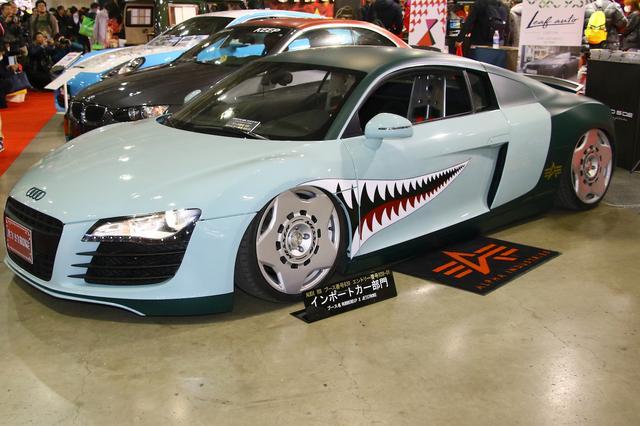 画像: Audi R8(RubberDIP.jp X JETSTROKE:北9)