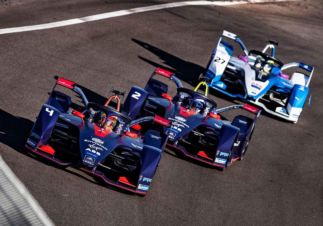 画像2: 【Formula E Rd.2 Marrakesh】アウディ カスタマーチームの2台が表彰台を獲得