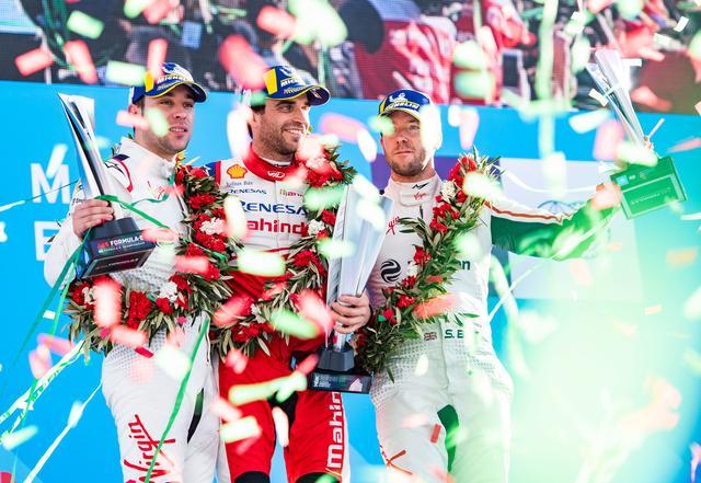 画像1: 【Formula E Rd.2 Marrakesh】アウディ カスタマーチームの2台が表彰台を獲得