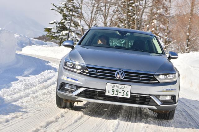 画像10: 雪上で試す4MOTION