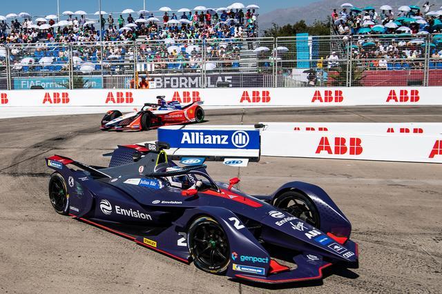 画像1: 【Formula E Rd.3 Santiago】アウディ カスタマーチーム「Envision Virgin Racing」が優勝