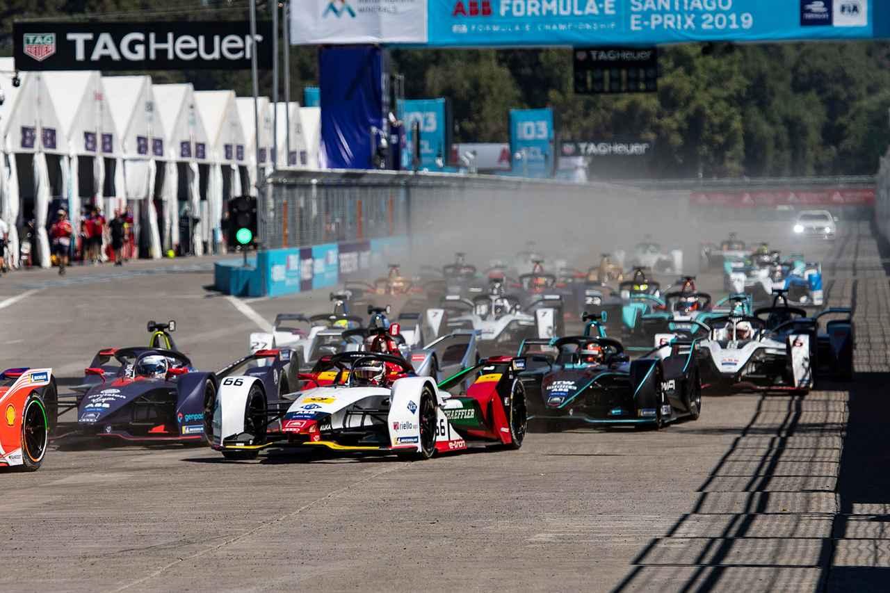 画像3: 【Formula E Rd.3 Santiago】アウディ カスタマーチーム「Envision Virgin Racing」が優勝