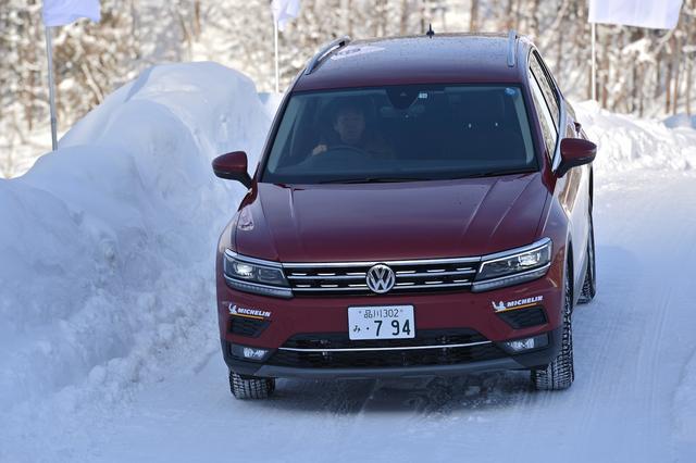 画像5: 雪上で試す4MOTION